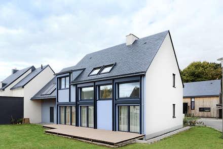 Passiefhuis door O2 Concept Architecture