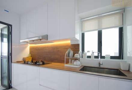 BTO Dawson: modern Kitchen by Designer House