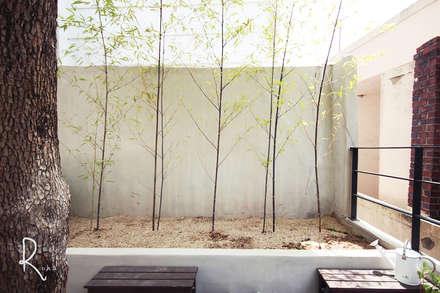 공사후 외관: 로하디자인의  정원