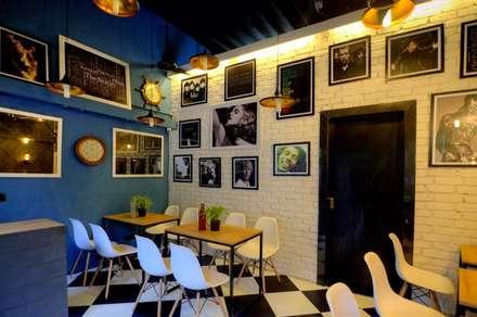 CAFE IN MUMBAI:  Gastronomy by HK ARCHITECTS