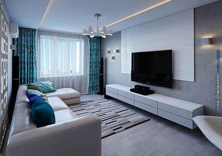 رہنے کا کمرہ  by hq-design