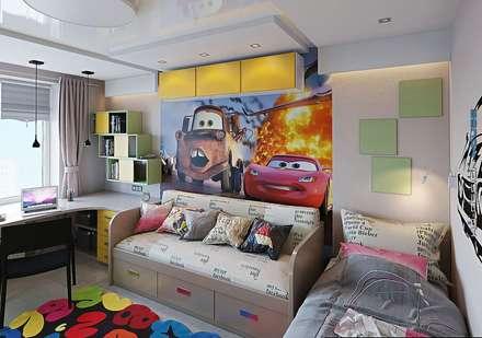 Детская комната: Детские комнаты в . Автор – hq-design