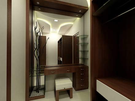 Dressing Room on dining room bathroom
