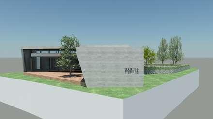 Western Hill House: DDS 건축디자인의  주택