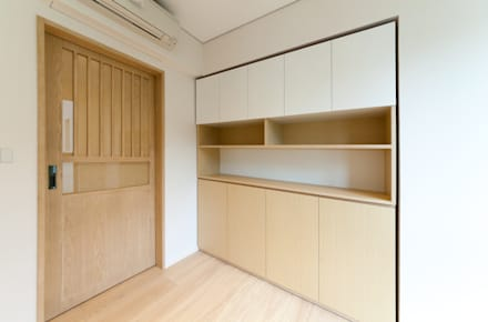 Study room: minimalistic Study/office by arctitudesign