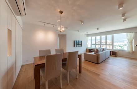 http://arctitudesign.com.hk/node/85: minimalistic Dining room by arctitudesign