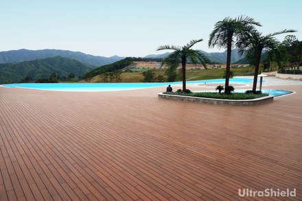 UltraShield® : Giardino in stile in stile Asiatico di Déco