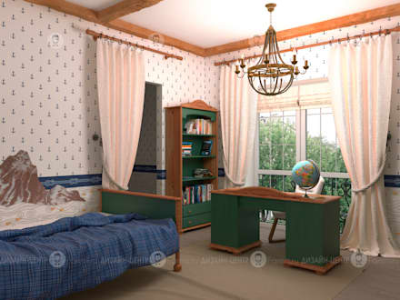 Детская : Детские комнаты в . Автор – Studio Fareni
