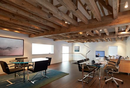 Mill House: country Study/office by Ayre Chamberlain Gaunt