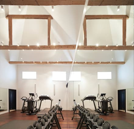 Mill House: country Gym by Ayre Chamberlain Gaunt