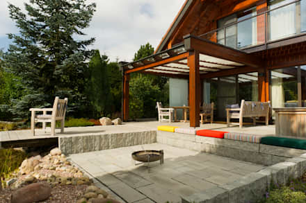 terrassen terrassengestaltung ideen und bilder homify. Black Bedroom Furniture Sets. Home Design Ideas