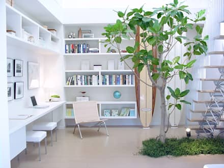 Plants/L: (有)ハートランドが手掛けた書斎です。