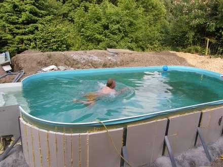 Probeschwimmen: mediterraner Garten von Hesselbach GmbH