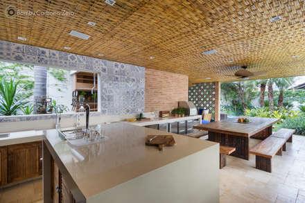 Nhà bếp by BAMBU CARBONO ZERO