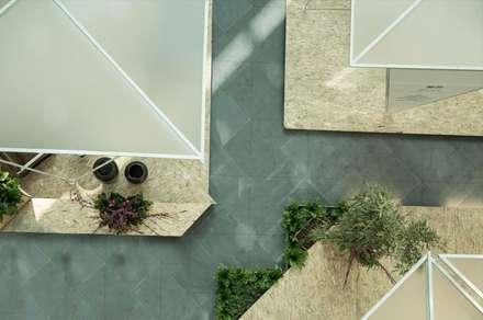 Pabellón de Primavera, Financial Street Mall, Pekín, China: Centros comerciales de estilo  de LATITUDE