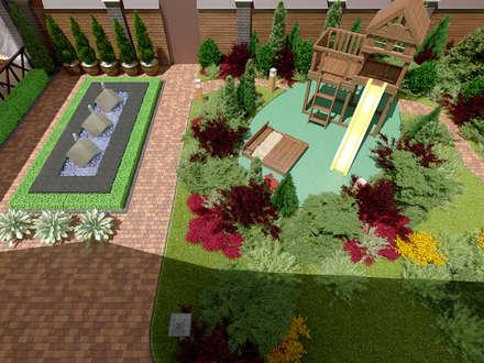 Ландшафтный дизайн: Сады в . Автор – Москоу Дизайн