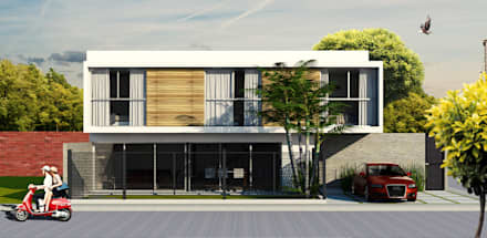 casa centeno casas de estilo moderno por