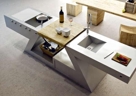 Cucina versione HOME: Cucina in stile in stile Eclettico di ZED EXPERIENCE - indoor & outdoor kitchen