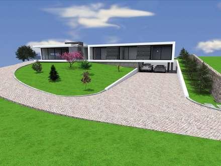 """Vivenda Unifamiliar - """"FV"""": Habitações  por Traço M - Arquitectura"""