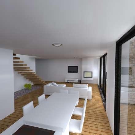 """Vivenda Unifamilar """"JM"""": Cozinhas modernas por Traço M - Arquitectura"""