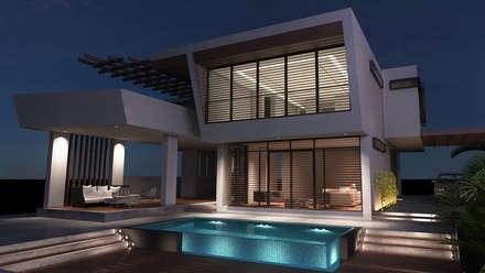 Gama Mimarlık – Turan Villaları: minimal tarz tarz Evler
