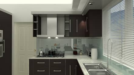 Cocinas ideas im genes y decoraci n homify for Cocina industrial completa