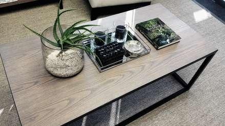 Eco Elementum Office Reception Area:  Office buildings by GSI Interior Design & Manufacture