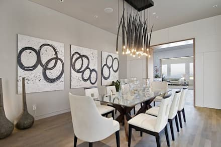 Formal Dining Area: Minimalistic Dining Room By GSI Interior Design U0026  Manufacture