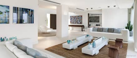 Formal Living Room: minimalistic Living room by GSI Interior Design & Manufacture