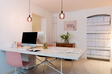 Carlo Berlin Architektur & Interior Design: classic Study/office by Pamela Kilcoyne - Homify