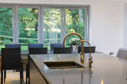 kitchen design inspiration. Toops Barn  modern Kitchen by Hampshire Design Consultancy Ltd design ideas inspiration pictures homify