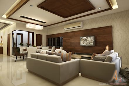 Hospital Modern Living Room By A Mans Creation