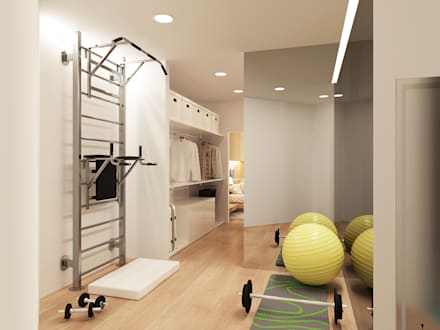 minimalistic Gym by ARCHIForma