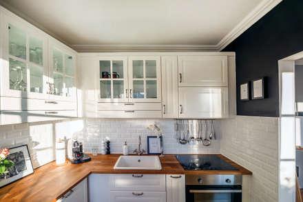 Küche: Landhausstil Küche Von WOHNGLUECK GmbH (Immobilien)