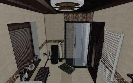 Shower: Ванные комнаты в . Автор – GNAdesigngroup