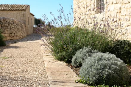 庭院 by BB Architettura del Paesaggio