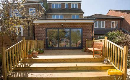 Fantastic porch! :  Terrace by The Market Design & Build