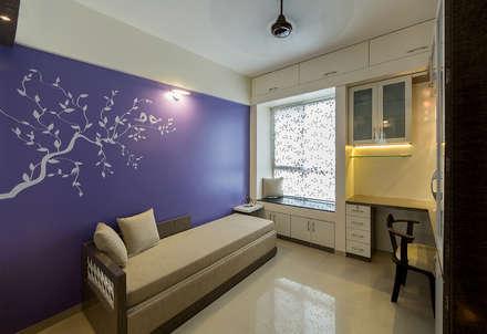 Daughters Room Modern Bedroom By Navmiti Designs