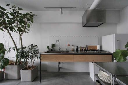 MORTAR POT: nuリノベーションが手掛けたキッチンです。