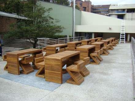 Plaza central PUJ: Edificios de oficinas de estilo  por Heritage Design Group