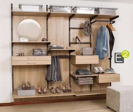 modern Dressing room by Espacio al Cuadrado