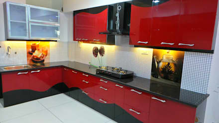 sanjay modern kitchen by shadab anwari associates - Interior Design Of Kitchen