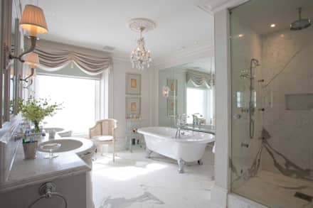 classic Bathroom by Janine Stone Design