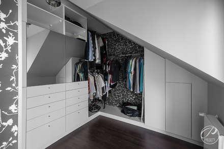 Garderoba: styl , w kategorii Garderoba zaprojektowany przez Progetti Architektura