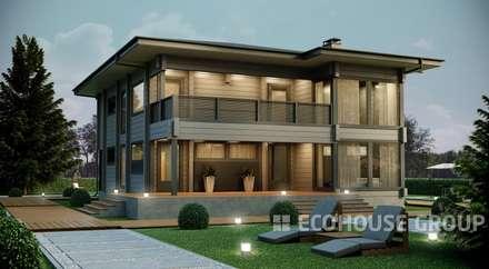 Крокус: Дома в . Автор – EcoHouse Group