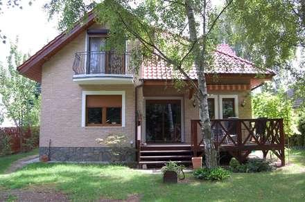 Casas de estilo  por ITA Poland s.c.