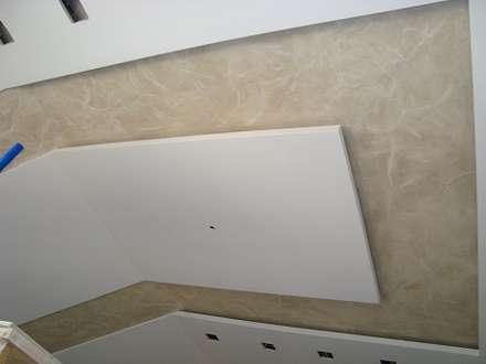 Декоративная штукатурка. Большой холл: Стены в . Автор – Decor-Live