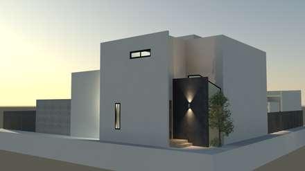 Villa de Monte: DDS 건축디자인의  주택