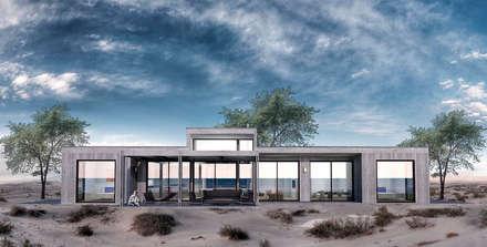 Casa BIG house modelo La Niña: Casas de estilo moderno por Inmobiliaria BIG house