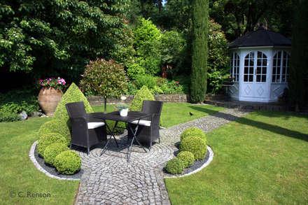 Garten Landhausstil landhausstil gartengestaltung ideen und bilder homify